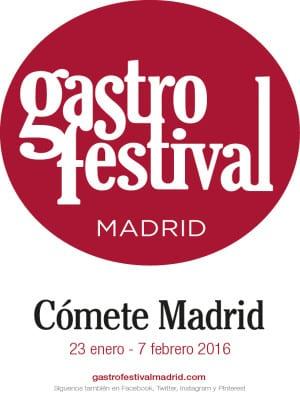 Gastrofestival Madrid 2016 | Cómete Madrid | 23/01-07/02-2016 | Madrid