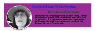 Perfil colaboradores | PqHdM | Cristina Mirinda | CristinaMirinda