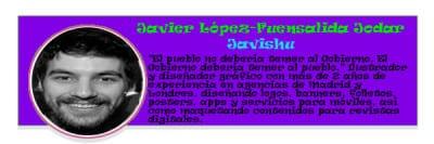 Perfil colaboradores PqHdM | Javier López-Fuensalida Jodar | Javishu