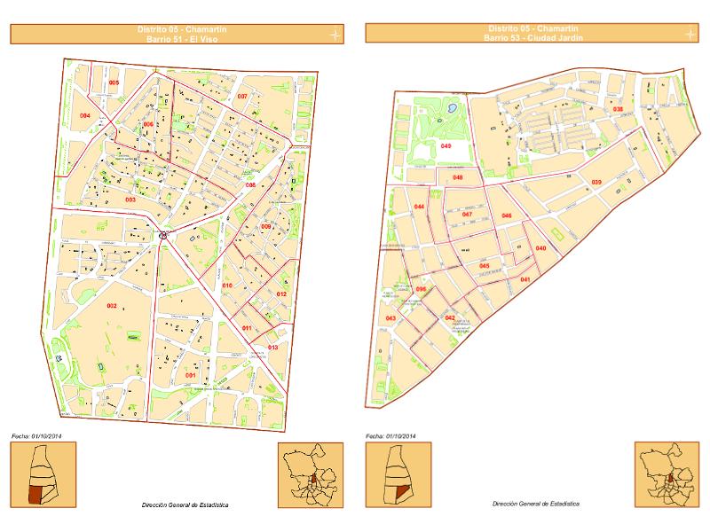 Los 6 barrios del distrito de chamart n de madrid for Barrio ciudad jardin
