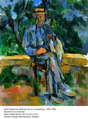 'Retrato de un campesino' | 1905-1906 | Paul Cezanne | Óleo sobre lienzo | Museo Thyssen-Bornemisza | Madrid