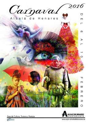 Carnaval 2016 | Alcalá de Henares | Comunidad de Madrid | Cartel