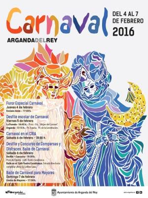 Carnaval 2016 | Arganda del Rey | Comunidad de Madrid