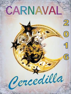 Carnaval 2016 | Cercedilla | Comunidad de Madrid | Cartel