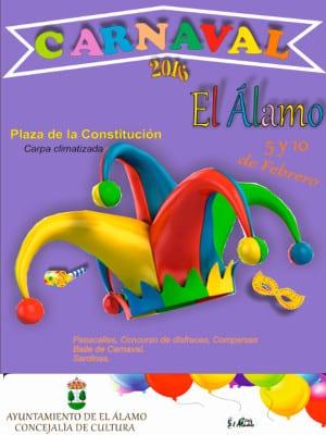 Carnaval 2016 | El Álamo | Comunidad de Madrid | Cartel