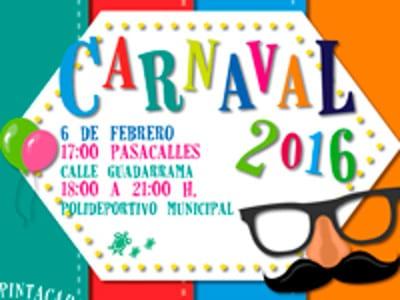 Carnaval 2016 | Galapagar | Comunidad de Madrid | Cartel