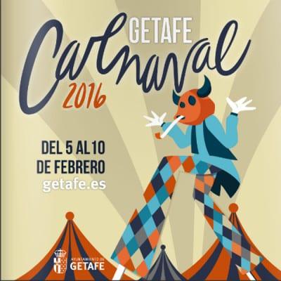 Carnaval 2016 | Getafe | Comunidad de Madrid | Cartel