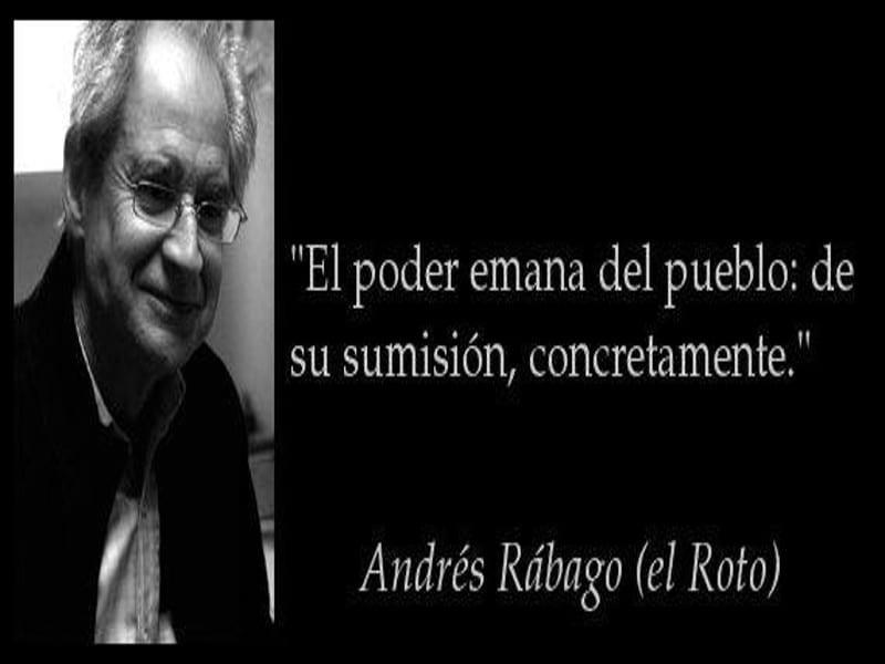 'El poder emana del pueblo...' | Andrés Rábago | 'El Roto'