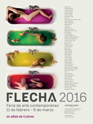 FLECHA 2016 | Feria de Arte Contemporáneo | 11/02-06/03/2016 | Centro Comercial Arturo Soria Plaza | Madrid