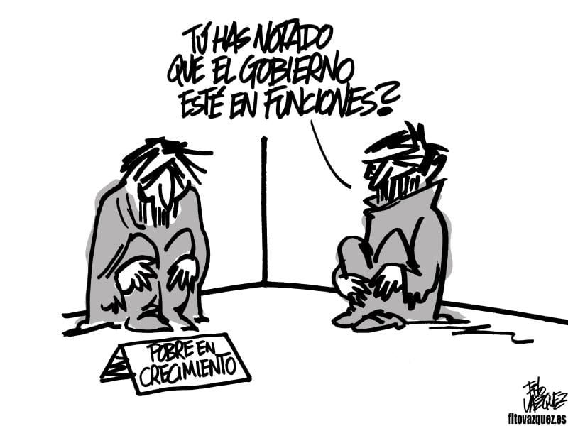 Gobierno en funciones   © Fito Vázquez 2016