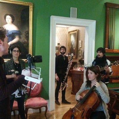 Nerval | Museo Nacional del Romanticismo | Madrid | Sexta edición ciclo de conciertos 'A las veinte cero cero' | Grabación vídeo