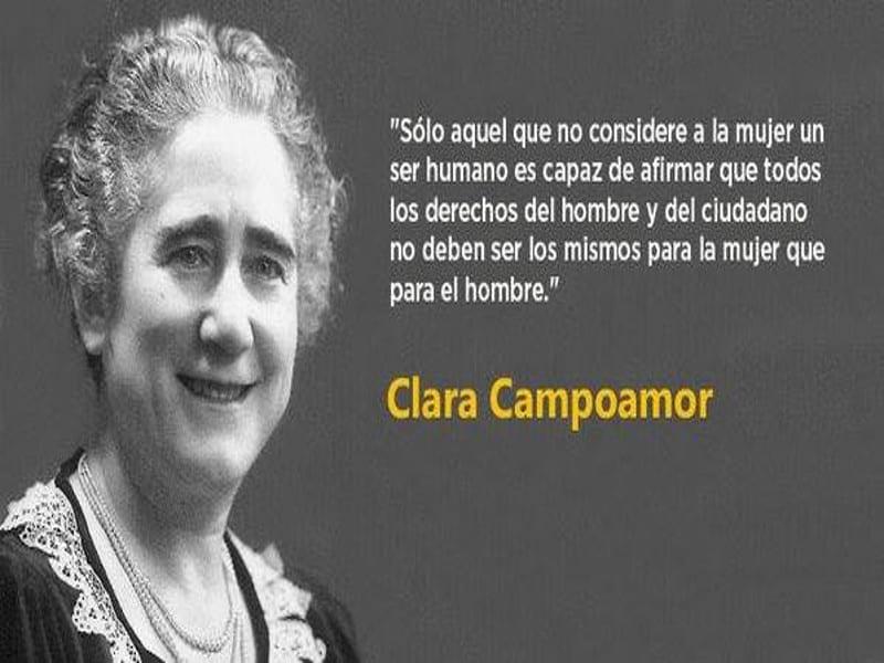 'Solo aquel que no considere a la mujer un ser humano...' | Clara Campoamor