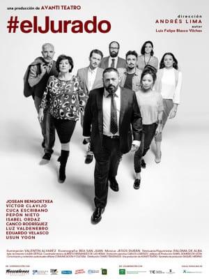 'El Jurado' de Luis Felipe Blasco Vilches   Producción Avanti Teatro   Dirección Andrés Lima   Estreno Madrid abril 2016   Cartel