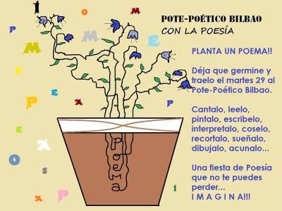 Pote-Poético Bilbao con la Poesía | ¡Planta un poema! | 29/03/2016 | Taberna Zabala - Bilbao