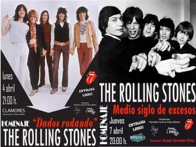 'Dados rodando' y 'Medio siglo de excesos' | Homenajes a The Rolling Stones | Madrid y Bilbao | 04 y 07/04/2016