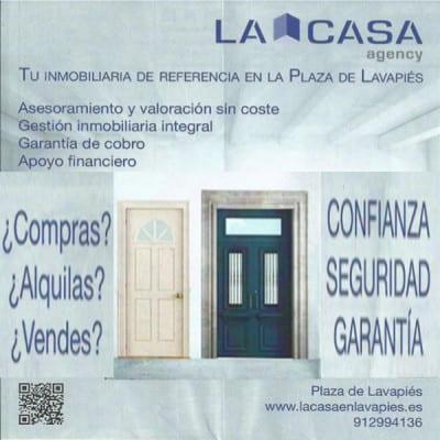 La Casa Agency Lavapiés | Anuncio PqHdM | Abril 2016