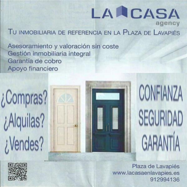 La Casa Agency Lavapiés | Pisos - Locales | Alquilar - Comprar - Vender