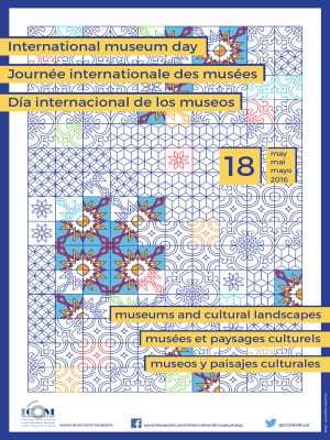 Día Internacional de los Museos 2016 | 18 de mayo de 2016 | Cartel