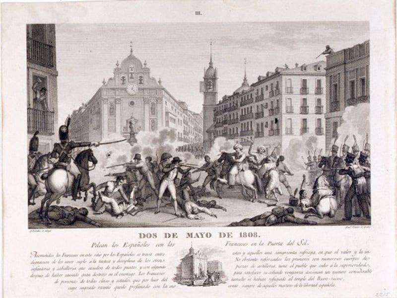 Galer a de im genes del 2 de mayo de 1808 pongamos que for Puerta del sol historia