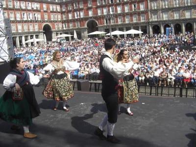 Fiestas San Isidro 2016 | Plaza Mayor | Homenaje a San Isidro de las Casas Regionales en Madrid | 15/05/2016 | Madrid