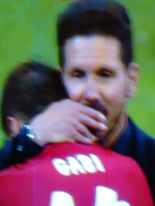 Final UEFA Champions League 2015-2016 | Real Madrid vs Atlético de Madrid | Estadio de San Siro - Milán - Italia | 28/05/2016 | 'Cholo' Simeone consolando a Gabi