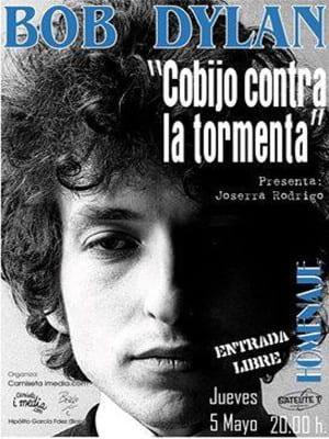 Homenaje a Bob Dylan Bilbao | 'Cobijo contra la tormenta' | 5 de mayo de 2016 | Sala Satélite T | Camiseta imedia - 'Bolo' García