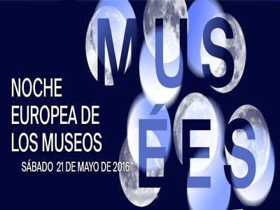 Noche Europea de los Museos 2016 | 21 de mayo de 2016 | Cartel