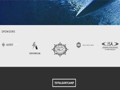 TotalSurfCamp | Sponsors mayo 2016 | 44 Board Shop, Acción Network Global, Federación Canaria de Surf, Wild Wild Web y Asociación Internacional de Surf