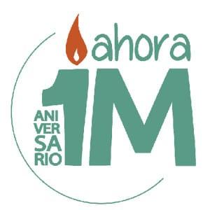 Verbena 1er Aniversario Ahora Madrid | Las Vistillas | La Latina | Madrid | 28 de mayo de 2016 | Logo