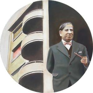 'Madrid ramoniano' | Damián Flores | Galería Estampa | Madrid | 16 de junio al 23 de julio de 2016 | 'Lecorbusierismo' (2016)