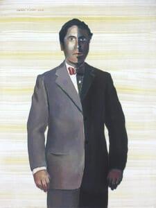 'Madrid ramoniano' | Damián Flores | Galería Estampa | Madrid | 16 de junio al 23 de julio de 2016 | 'Ramón de medio ser' (2015)
