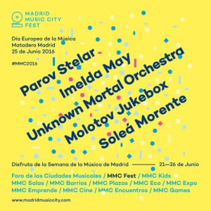 Semana Día Europeo de la Música | 21-26 de junio de 2016 | Madrid | Madrid Music City Fest | Matadero Madrid | Conciertos 25/06/2016