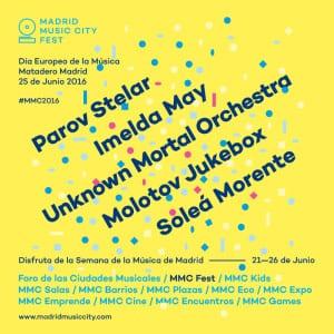 Semana Día Europeo de la Música | 21-26 de junio de 2016 | Madrid | Madrid Music City Fest | Matadero Madrid | Conciertos 25/06/2016