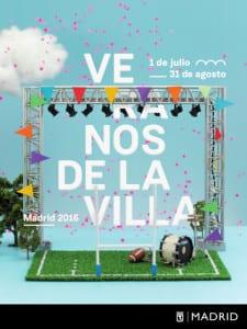 Veranos de la Villa 2016 | Madrid | 1 de julio al 31 de agosto de 2016 | Cartel