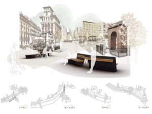 12 diseños finalistas nuevos bancos de Madrid | Julio 2016 | Delta