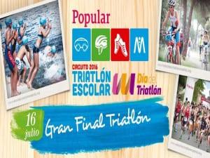 Día del Triatlón de Madrid 2016 | Casa de Campo de Madrid | Sábado 16 de julio de 2016 | Federación Madrileña de Triatlón | Comunidad de Madrid | Ayuntamiento de Madrid | Final Triatlón Escolar