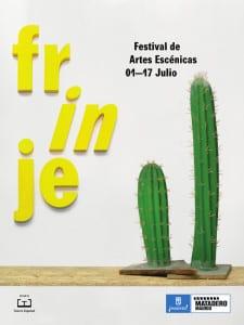 Frinje 16 | Festival de Artes Escénicas | Del 1 al 17 de julio de 2016 | Matadero Madrid | Cartel Cactus