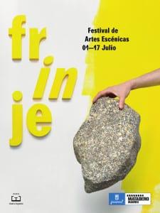 Frinje 16 | Festival de Artes Escénicas | Del 1 al 17 de julio de 2016 | Matadero Madrid | Cartel Piedra