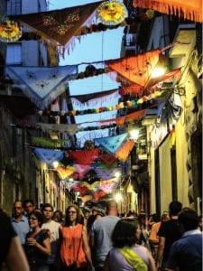 Fiestas de San Cayetano, San Lorenzo y Virgen de La Paloma 2016 | Mantones y cadenetas | Fiestas de San Cayetano | El Rastro - Lavapiés | Madrid | 1 al 7 de agosto de 2016