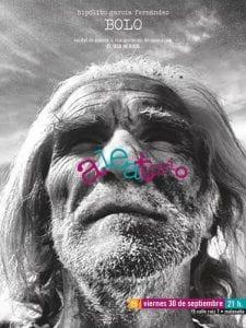'El oso herido' | Obra plástica de Hipólito 'Bolo' García Fernández | Festival ex!poesía | Aleatorio Galería Bar | Malasaña - Madrid | 30/09/2016