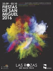 Fiestas de San Miguel Arcángel 2016 | Las Rozas de Madrid | 23/09 al 03/10/2016 | Cartel
