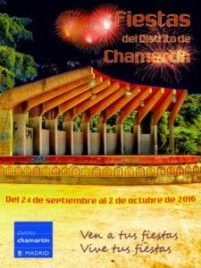 Fiestas San Miguel 2016 | Chamartín | Madrid | 24/09 al 02/10 | Cartel