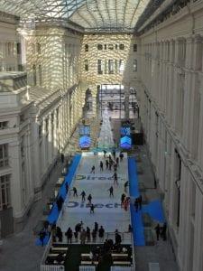 Galería de Cristal | Palacio de Cibeles | Madrid | Pista de hielo | Diciembre 2014