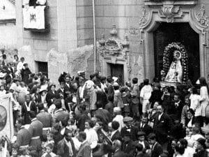 Procesión de la Virgen del Puerto | Verbena de la Melonera | Arganzuela | Madrid | 1913
