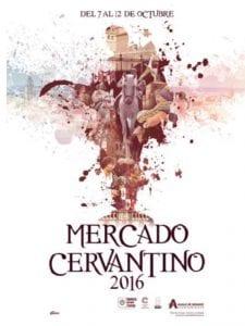 18 Mercado Cervantino | Alcalá de Henares | Comunidad de Madrid | 07-12/10/2016 | Cartel