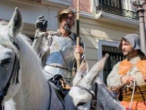 18 Mercado Cervantino | Alcalá de Henares | Comunidad de Madrid | 07-12/10/2016 | Don Quijote y Sancho Panza