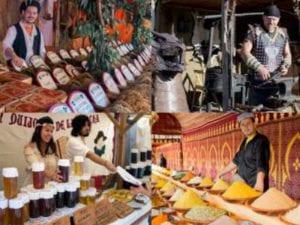 18 Mercado Cervantino | Alcalá de Henares | Comunidad de Madrid | 07-12/10/2016 | Puestos de gastronomía y artesania