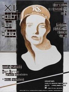 40º Poetry Slam Bilbao | 02/11/2016 | Luzgas | Pelota 6 | Casco Viejo | Bilbao | Cartel José Manuel Ezkerra