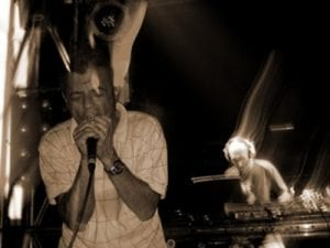 'Esplendor Geométrico' en directo en el Moog Techno Club de Barcelona en agosto de 2014
