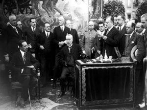 Gran Vía de Madrid | Inauguración de las obras por el rey Alfonso XIII | 04/04/1910
